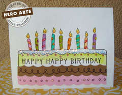 Happy Happy Birthday by Sally Traidman