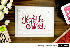 Joy to the World by Clare Prezzia for Hero Arts