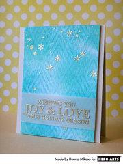 Joyh & Love by Donna Mikasa for Hero Arts