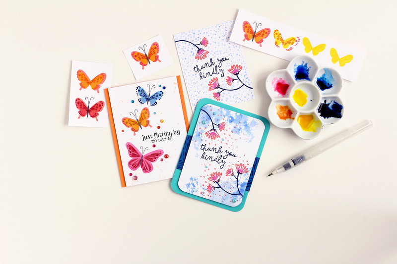Celebrating butterflies from Hero Arts