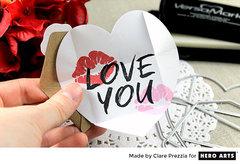 Quick Mini Valentines by Clare Prezzia for Hero Arts