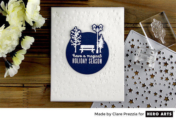 Have a Magical Holiday Season Card by Clare Prezzia