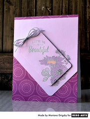 Pretty Purples by Mariana Grigsby for Hero Arts