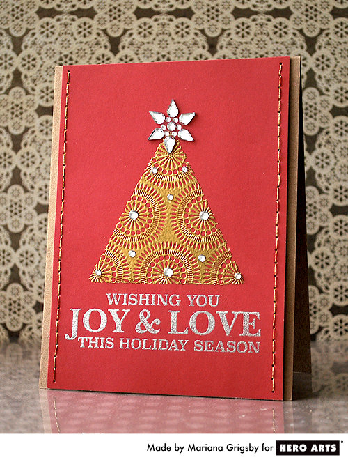 Joy & Love by Mariana Grigsby for Hero Arts