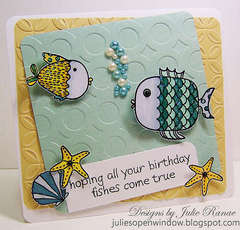 Birthday Fishes by Julie Ranae