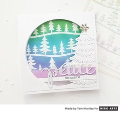 Peaceful Forest Window Card by Tami Hartly