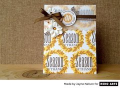 Season of Thanks by Jayne Nelson for Hero Arts