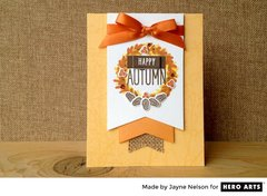 Happy Autumn by Jayne Nelson for Hero Arts