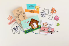 Dog and Cat Cards from Hero Arts