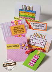 Happy Birthday Cards by Sally Traidman