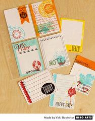 Journaling Cards by Vicki Boutin