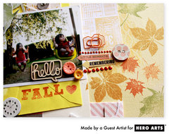 Hello Fall  By Guest Artist