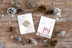 Add elegant dimension to your cards with Hero Arts Paper Layering Snowflakes