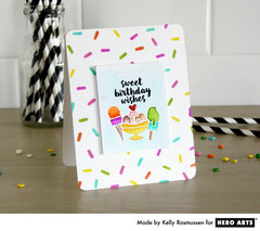 Birthday Sprinkles by Kelly Rasmussen for Hero Arts