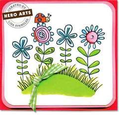 Stamp Garden by Lisa Spangler