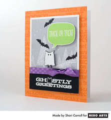Ghostly Greetings by Shari Carroll