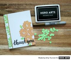 Handwritten Thank You By Amy Tsuruta for Hero Arts