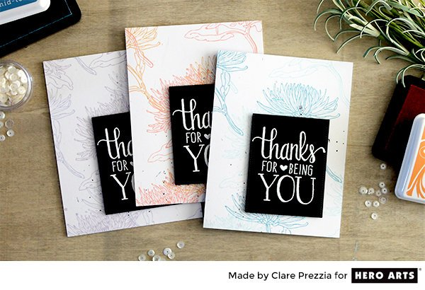 Wallpaper Card Set by Clare Prezzia for Hero Arts