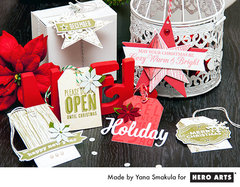 Holiday Tags by Yana Smakula for Hero Arts