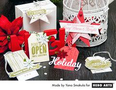 Holiday Tags by Yana Smakula for Hero Arts