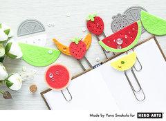 Easy Felt Paper Clips by Yana Smakula for Hero Arts