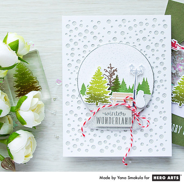 Winter Wonderland Card by Yana Smakula