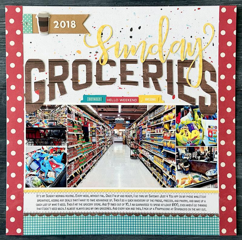 Sunday Groceries *Jillibean Soup*