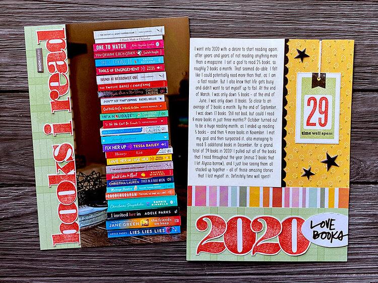 Books I Read 2020 *Kerri Bradford Studio*