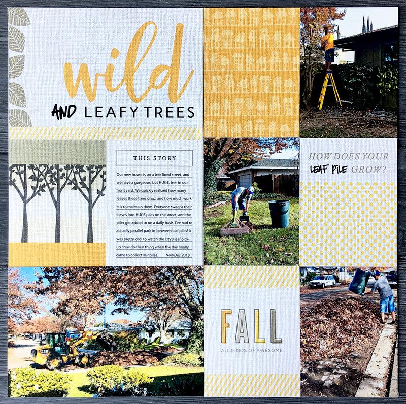 Wild and Leafy Trees *Kerri Bradford Studio*