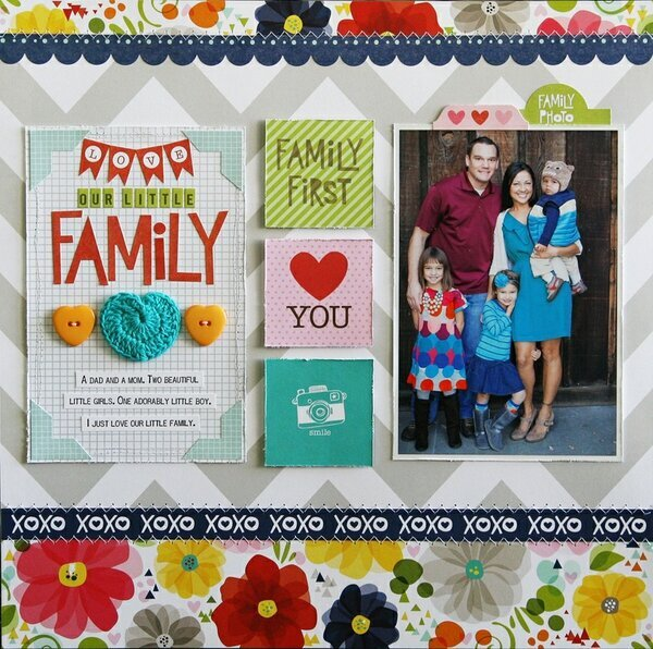 Love Our Little Family *Bella Blvd*