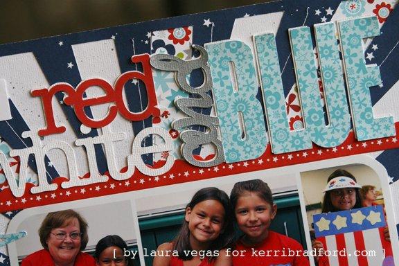 Red, White and Blue *Bella Blvd + Kerri Bradford*