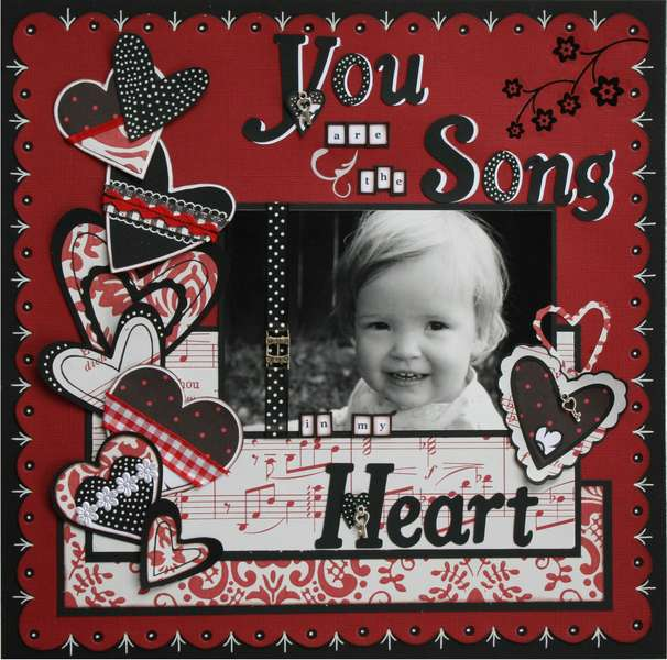 You are the song in my heart