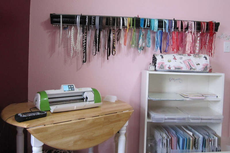 My Ribbon Has a Home Now Too!