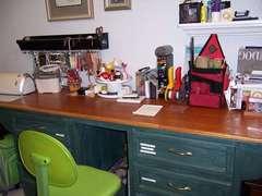 NT's HUGE scrapbook desk