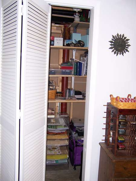 And there is CLOSET space, too!