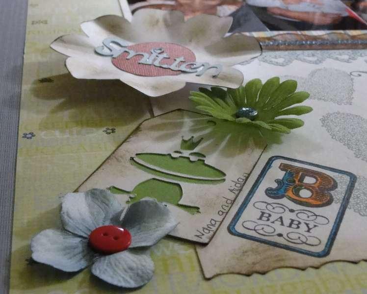 Nana is Smitten with Baby 'embellishments'
