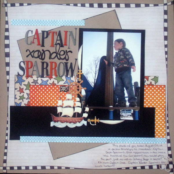 Captain Xander Sparrow