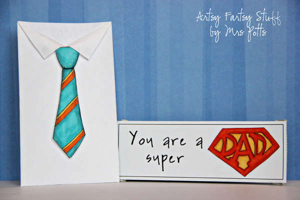 Father's Day Card and Candy Bar
