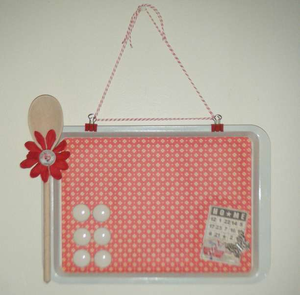 Cookie Tray Memo Board