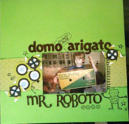 Domo Arigato, Mr Roboto.