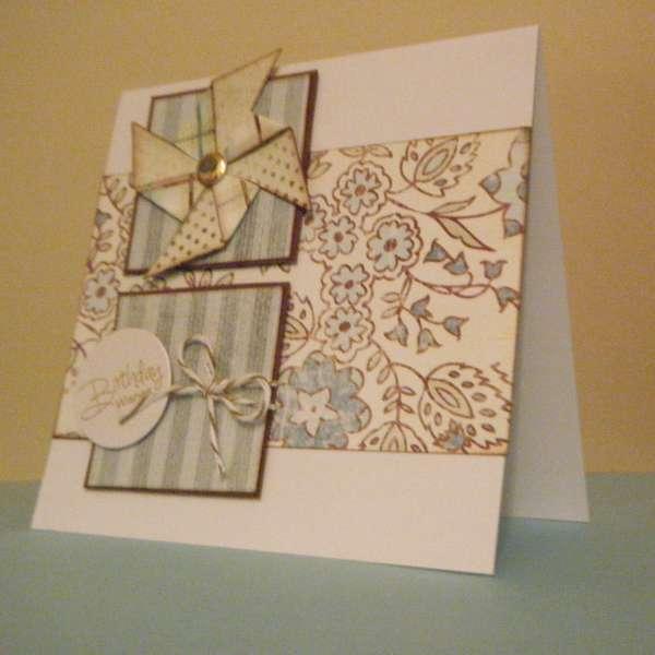 Blue Card Set ~ Birthday Wishes 2