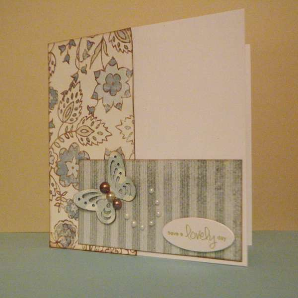 Blue Card Set ~ Have A Lovely Day