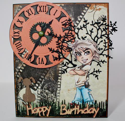 Kyle's 18th Birthday Card.