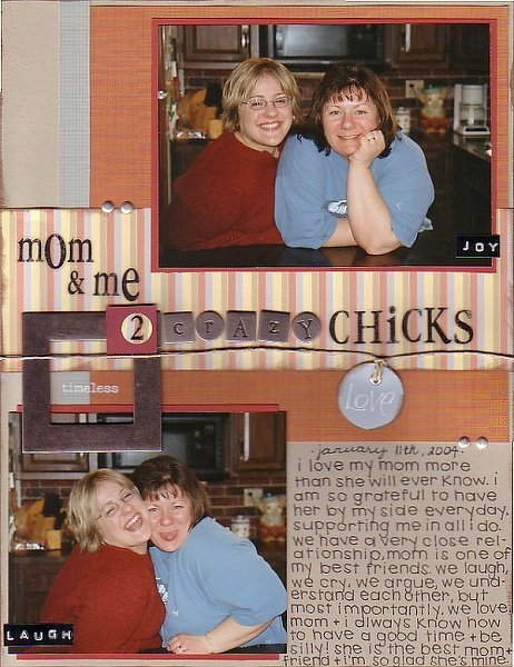 *Two Crazy Chicks* (May-Ivy Cottage)