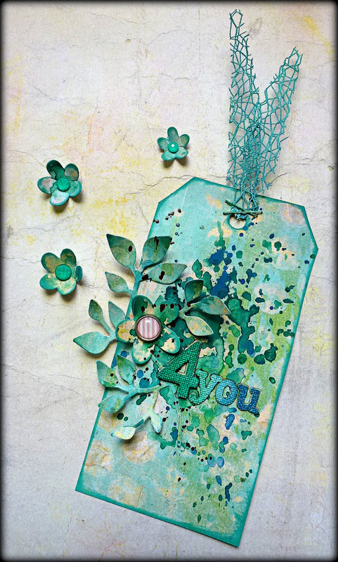 DT Tag for Prima & Sizzix Blog swap