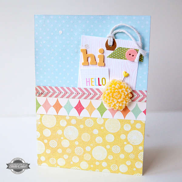 Hi, Hello Card {STUDIO CALICO JULY KIT}