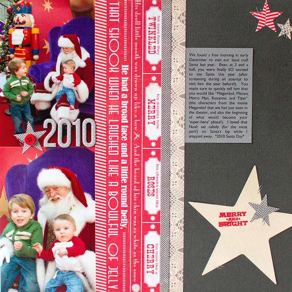 Christmas 2010 {Studio Calico December Kit}