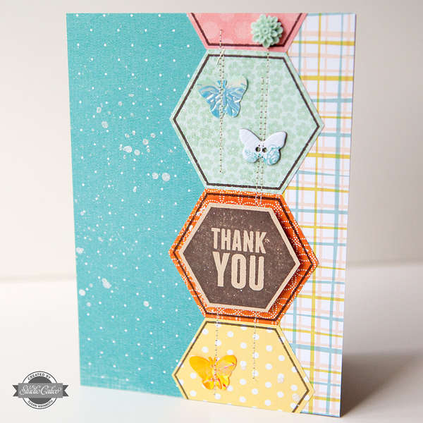 Thank You Card {STUDIO CALICO JUNE KIT}
