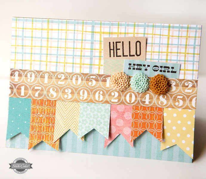 Hello Card {STUDIO CALICO JUNE KIT}