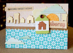 Hooray Card {Studio Calico Memoir & Classic Calico}